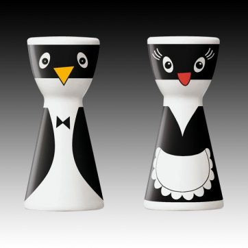 Mr Salt and Mrs Pepper Pots