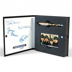 «Beatles for sale» – Набор (ручка-роллер и визитница)