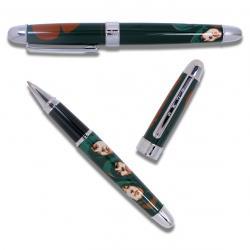 «RUBBER SOUL» – Набор (ручка-роллер и визитница)