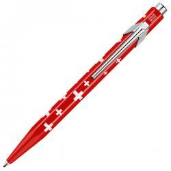 Шариковая ручка со швейцарским флагом Totally SWISS Collection
