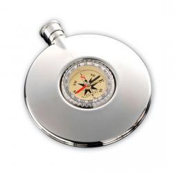 Фляга DALVEY с компасом 125 мл