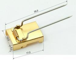 Адаптер для медальных колодок (от 500 шт. 160 руб., от 1000 шт. 150 руб. )