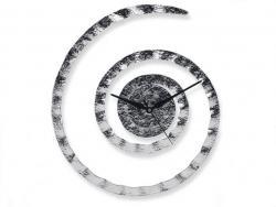 """Часы настенные """"По часовой стрелке"""", хром MG323"""