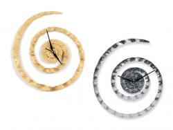 """Часы настенные """"По часовой стрелке"""", золотистые MG322"""
