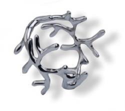 Кольца для салфеток ХАРВЕСТ (6 шт.), золотистые MG084
