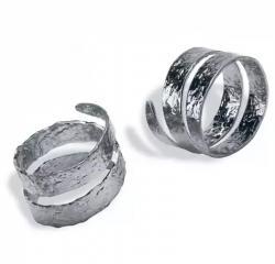 Кольца для салфеток РУСТИК, хром MG015